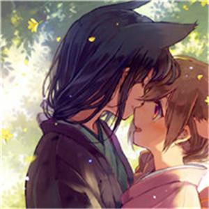 卡通日系情侣头像 日系风格是好多朋友喜欢的