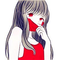红色调卡通情侣头像是否喜欢 共计12张