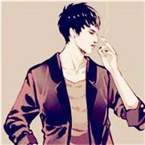有了心事的男人爱上抽烟 男生吸烟卡通头像图片
