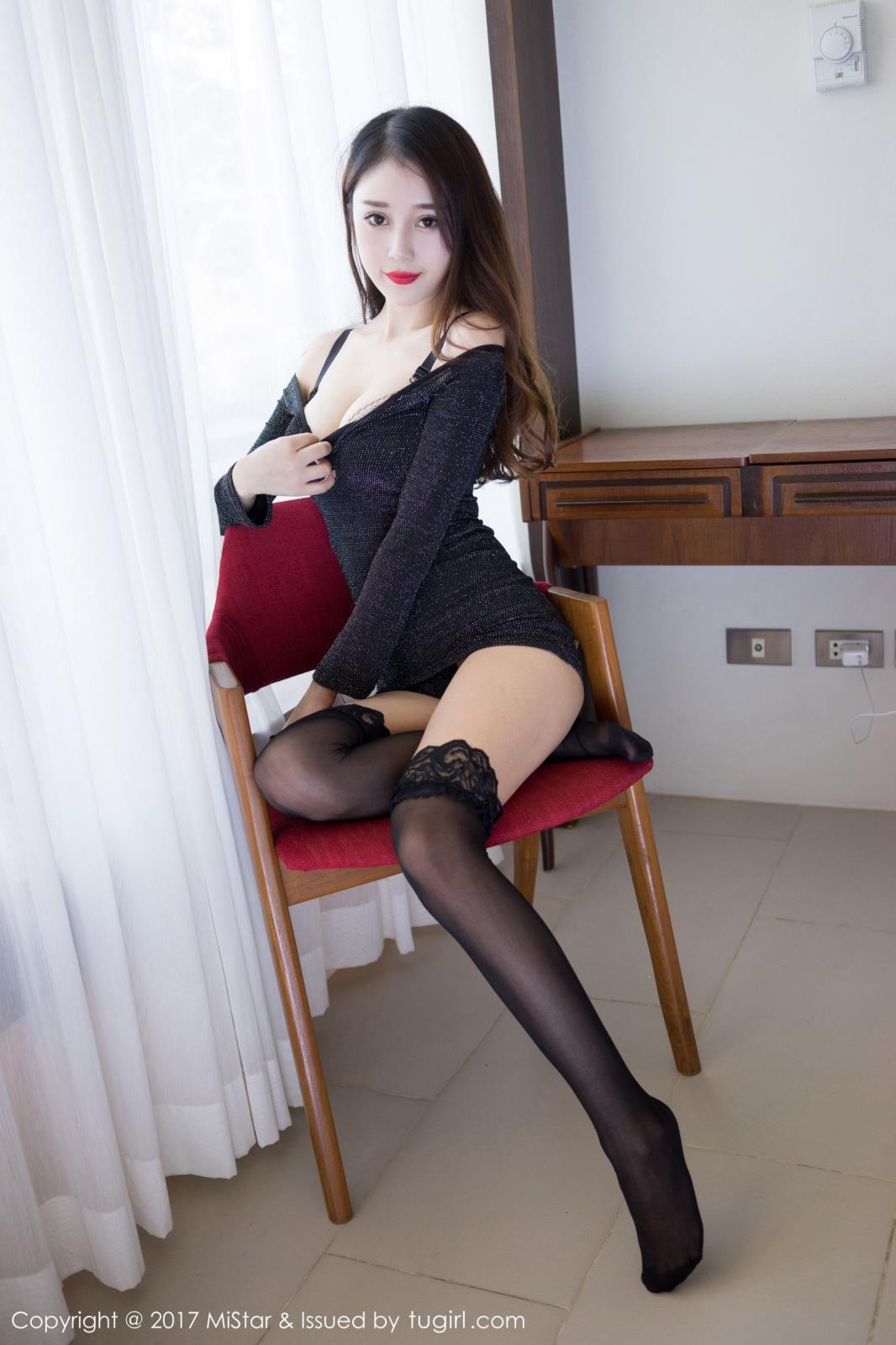 MiStar魅妍社宅男女神赵小米Kitty黑丝美腿苏梅岛旅拍