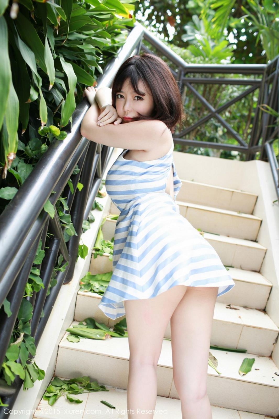 秀人网性感美女刘飞儿Faye白纱巨乳大尺度菲律宾旅拍