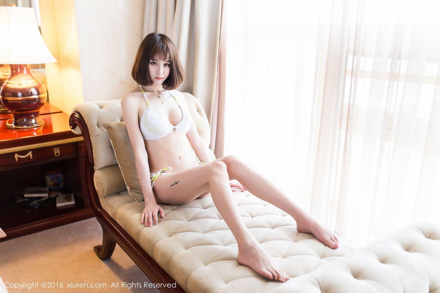 [XIUREN秀人网] 性感女神Cheryl青树内衣诱惑美胸长腿非常灵气