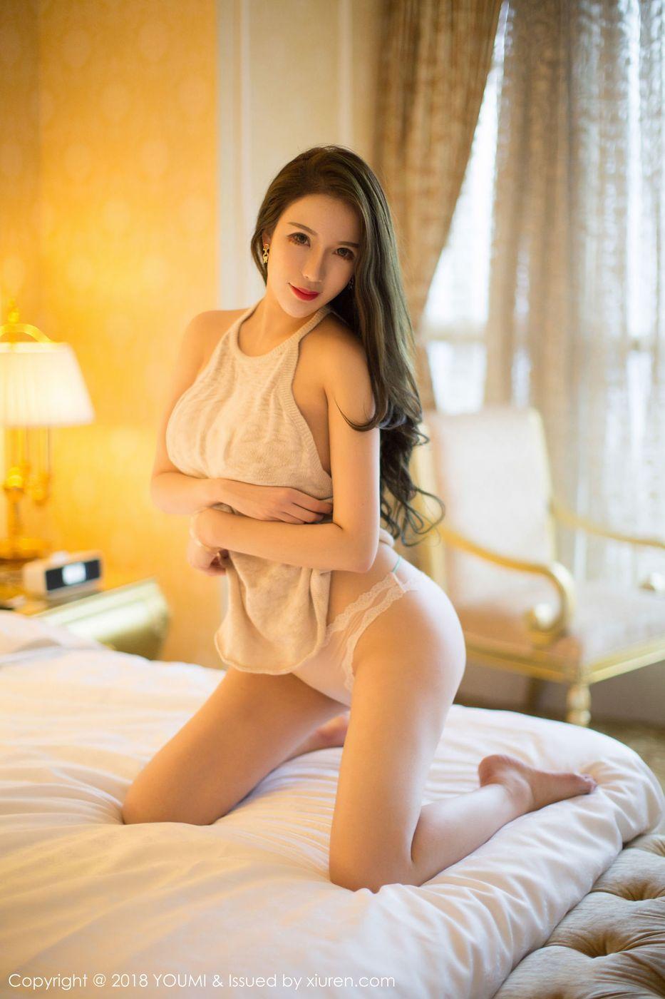 [YouMi尤蜜荟] 美女模特Egg_尤妮丝巨乳美臀全新超性感写真 Vol.187