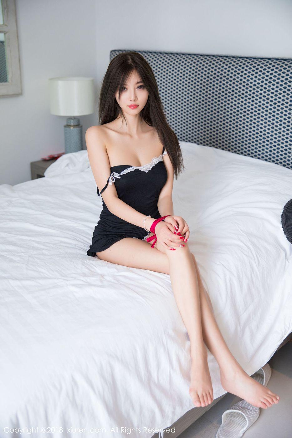[XIUREN秀人网] 甜美女神杨晨晨sugar蕾丝睡衣SM捆绑普吉岛旅拍 No.1152