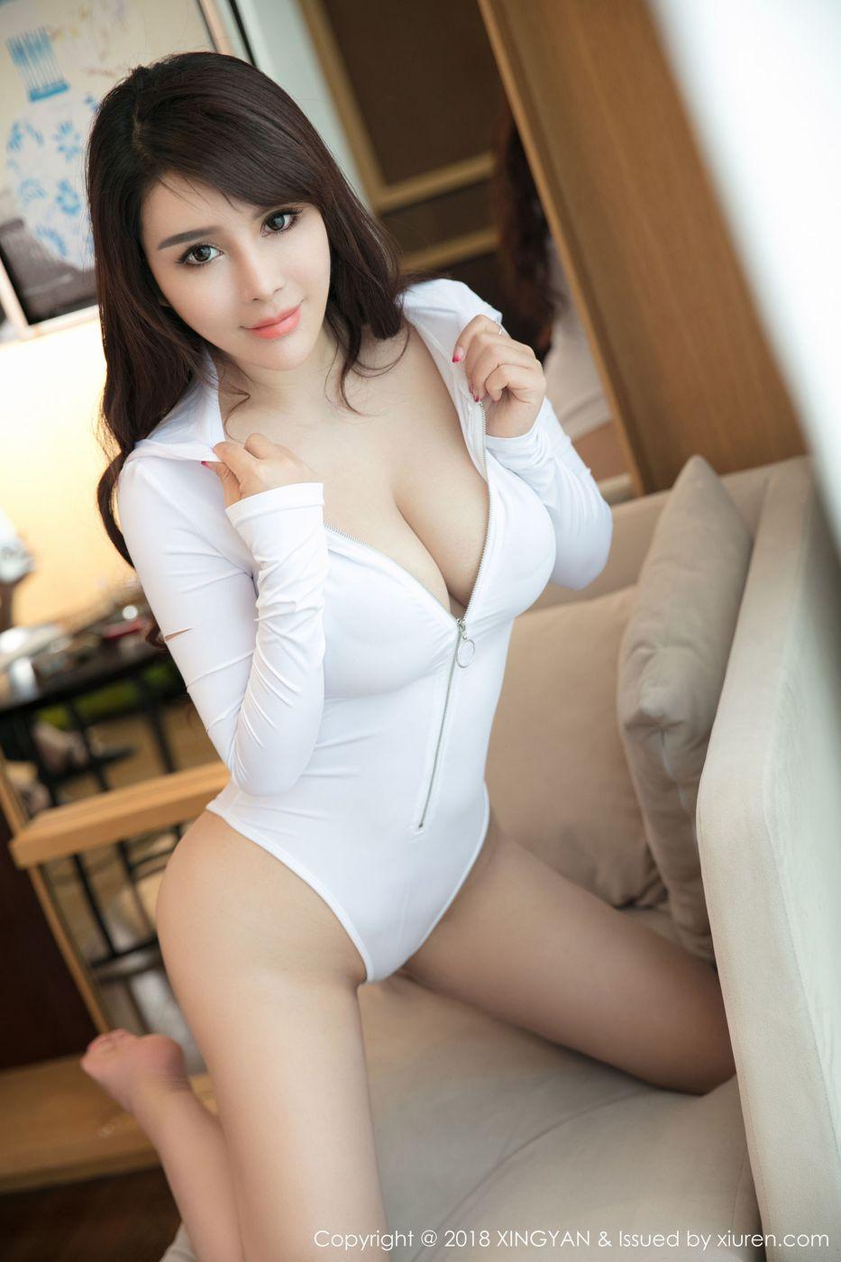 [XINGYAN星颜社] 美女模特雪千寻千娇百媚蕾丝内衣魅惑私房写真 Vol.047
