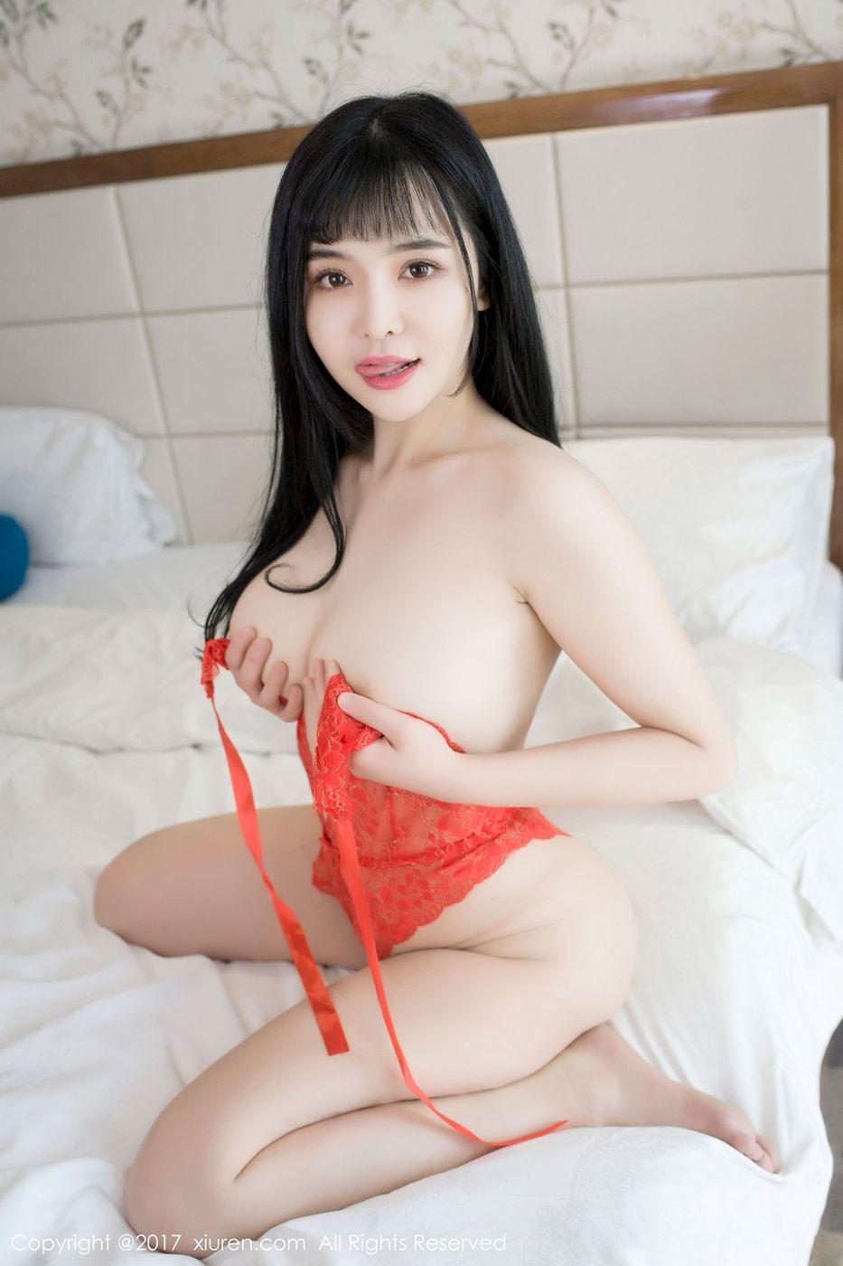 [XiuRen秀人网] 性感美女刘钰儿开胸比基尼半透制服诱惑写真 No.734