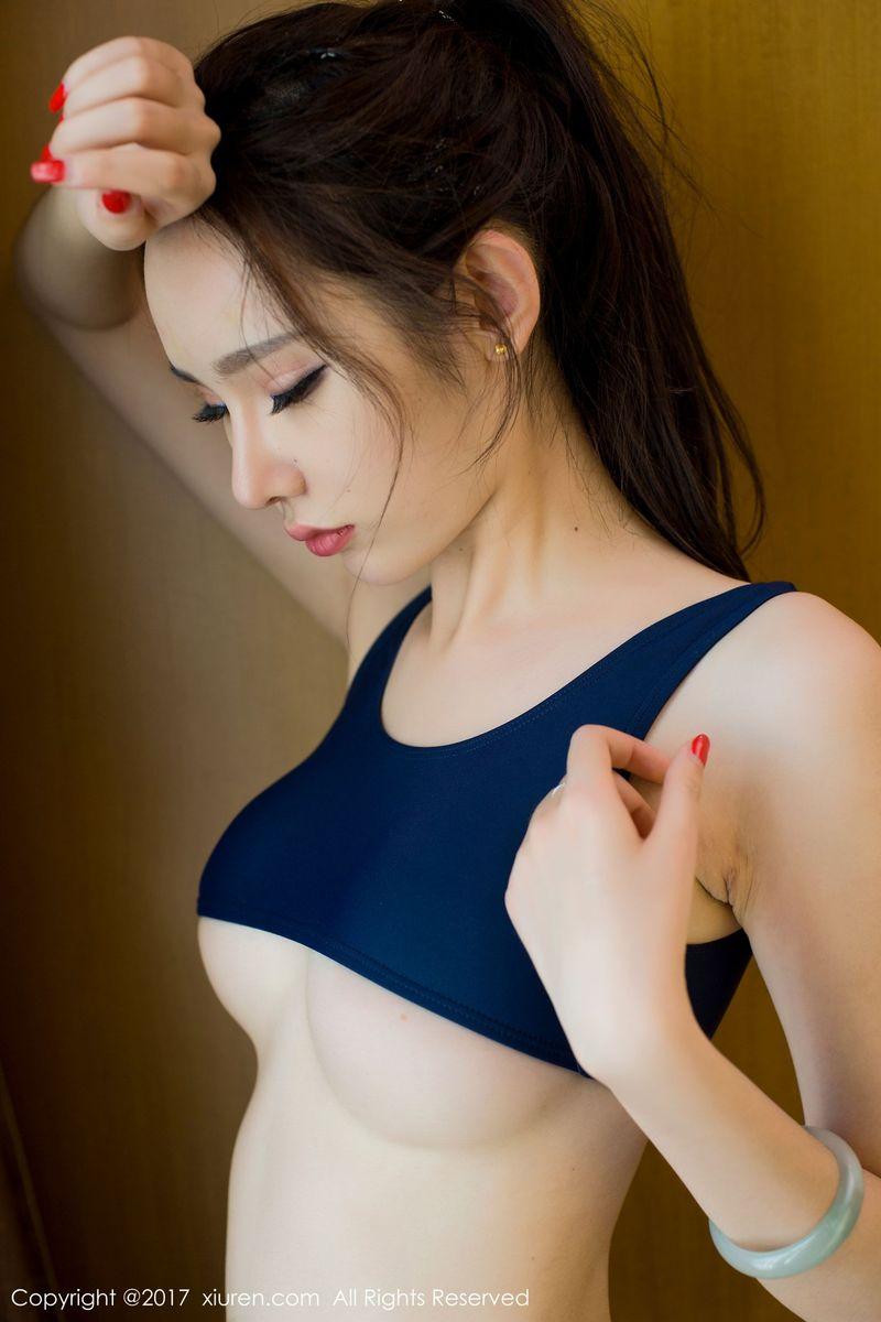 [XiuRen秀人网] 妖孽美女萌琪琪Irene超短漏胸比基尼死库水美图 No.682