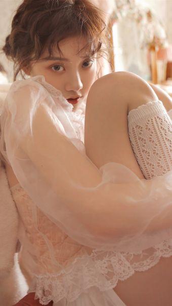 日系甜美美女写真
