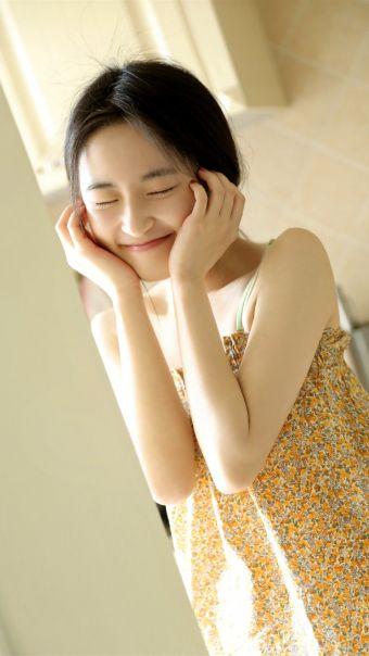 甜美日系美女写真