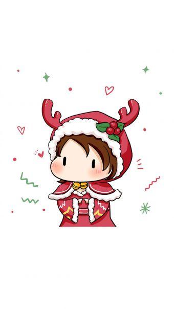 王者荣耀圣诞Q版头像