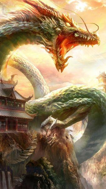 中国风游戏场景插画