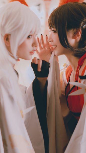 碧蓝航线翔鹤瑞鹤cosplay