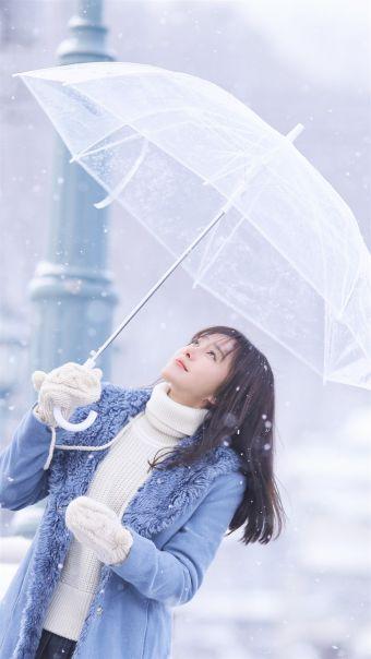 气质美女明星秦岚