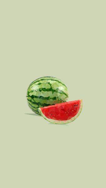 小清新水果背景