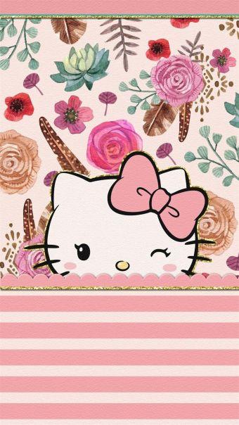 凯蒂猫碎花套图