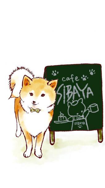 可爱卡通柴犬