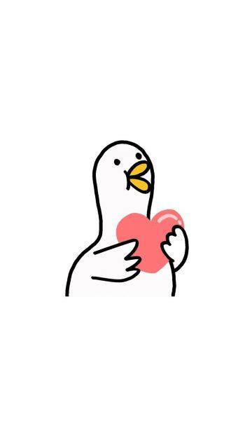 鸭鸭表情包