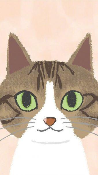 可爱卡通猫咪