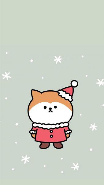 可爱卡通圣诞