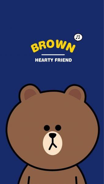 line可妮兔布朗熊