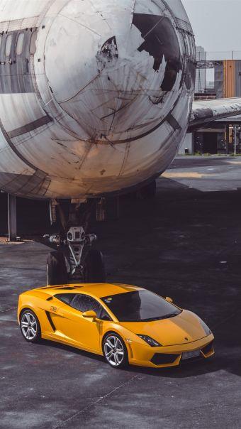 超跑与飞机